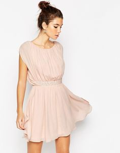Browse online for the newest ASOS PETITE Embellished Waist Mini Dress styles. Shop easier with ASOS' multiple payments and return options (Ts&Cs apply). Best Prom Dresses, Pink Mini Dresses, Dressy Dresses, Short Dresses, Pink Dress, Tall Dresses, Petite Outfits, Petite Dresses, Classy Outfits