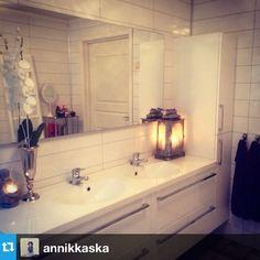 Se hvor flott @annikkaska har innredet sitt baderom fra oss #fossbad #tipstilhjemmet #baderomsinspirasjon #interiorinspirasjon #interior123