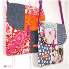 #patchwork shoulder #bags;