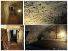 """Left: Long, narrow cell in the dungeon Right: Ugo's cell with toilet - """"5 Favorite Highlights of Ferrara Italy"""" by @Catherine Sweeney"""