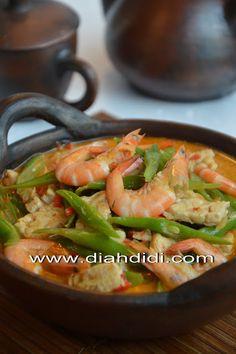 Sambal Goreng Buncis, Udang dan Tempe Asian food cuisine..simply Asia / imdonesian / malaysian food