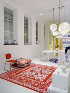 carpet - at (shop) Moooi Amsterdam by decor8