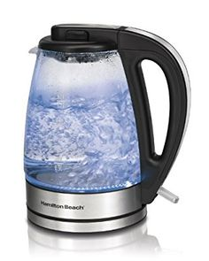 "That old saying, ""a watched pot never boils,"" definitely does NOT apply here. Watch the water as it boils in this 1.7-liter kettle, and then turn your tea time into a mini rave  as the blue LED light illuminates the dancing bubbles. If only it also played music! Hmm, good business idea."