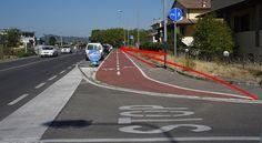 Via Chiarini, vietata ai pedoni e ai ciclisti