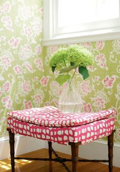 Thibaut animal print style stool