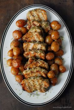 I love easy dinner recipes like this Garlic Rosemary Pork Tenderloin because it cooks in only 10 minutes! Try it on the grill!