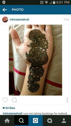 29 New Ideas Design Tattoo Ideas Creative Stylish Mehndi Designs, Mehndi Designs 2018, Mehndi Designs For Fingers, Beautiful Mehndi Design, Arabic Mehndi Designs, Henna Tattoo Designs, Bridal Mehndi Designs, Tattoo Ideas, Mehendi