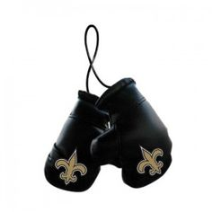 New Orleans Saints Mini Boxing Gloves Ornament