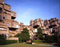 Safdie Architects, Habitat '67, Montreal, 1967
