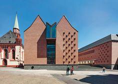 Urban weiterentwickelt: Erweiterung Historisches Museum in Frankfurt - DETAIL - Magazin für Architektur + Baudetail