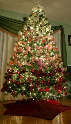 Toques e Retoques: Árvore de Natal - Ombré