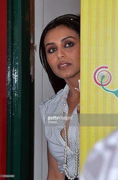 Indian Bollywood actress Rani Mukherjee arrives at the broadcasting station of 38.3 FM Radio to promote the new Hindi film 'No One Killed Jessica' on December 28, 2010 in Mumbai.