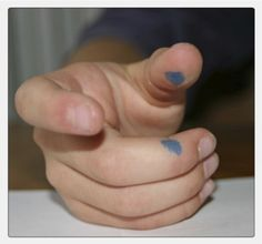 Wonderful ways to correct pencil grip when teaching primaries... also, links to great finger exercises .