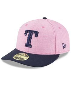 New Era Texas Rangers Mothers Day Low Profile 59Fifty Fitted Cap - Pink 7  1 2 c9a0602d0