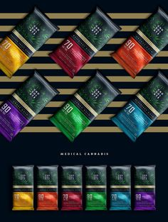 Packaging Chocolate™ MedicalCannabis on Behance