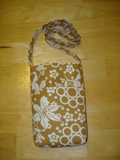 life with nature girl: Sling Bag Tutorial