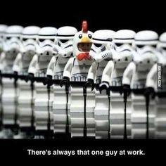 There is always that ONE! #starwars #starwarsfan #lego #legos #legominifigure #legostarwars