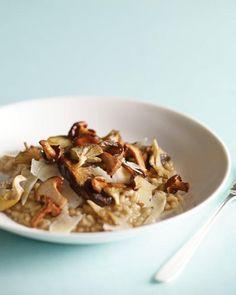 Indulgent Mushroom Risotto Recipe