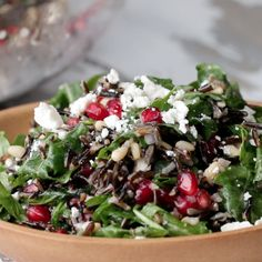 Toss, and serve! 9 Healthy Summer Sides To Bring To A Potluck Fresh Corn Salad, Wild Rice Salad, Veggie Recipes, Salad Recipes, Healthy Recipes, Weeknight Recipes, Veggie Meals, Yummy Recipes, Healthy Summer