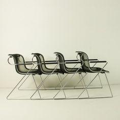 Located using retrostart.com > Penelope Dinner Chair by Charles Pollock for Castelli