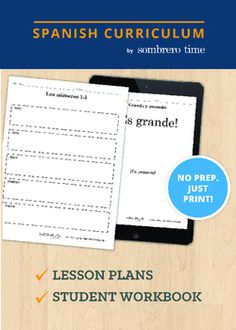 Los Numeros - 1 Week of Teacher Lesson Plans. Los Numeros is a Common Core aligned resource developed by teachers and classroom tested. Los Numeros has everything you need to start teaching tomorrow:-Four Days of Scripted Lesson Plans-Thematic Vocabulary-Target Vocabulary-Language Concepts-Student Learning Objectives-Materials ListAbout our Curriculum:Spanish Curriculum by Sombrero Time has been developed and tested over the last 9 years with the help of bilingual educators and language…