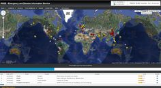 RSOE EDIS - - Event reports (Earthquakes, events, tropical storms, tsunamies and others)