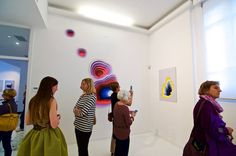 Alluring Illusions of Technicolor Portals Are Actually 2D Wall Paintings - My Modern Met