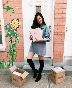 Emma Verde, Youtubers, Shirt Dress, Outfits, Stars, Collection, Fashion, Outfit, Color