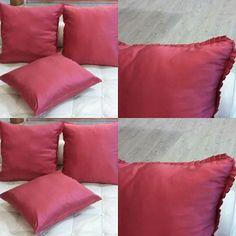 Cuscini in seta creati dalla sartoria Paola e Rosa #manidifata #fattiamano#handmade #paolaerosa #paolaerosabrindisi #like4like #enjoy