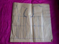 Konstrukcja. Jak zmodyfikować wykrój bluzki? - White Rabbit Inspiration - blog o szyciu, handmade, diy #pattern #wykrój #szycie #sewing