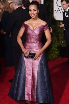 Kerry Washington at #GoldenGlobe2015