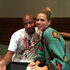 Bethany Joy Lenz and Antwon Tanner #Returntotreehill2