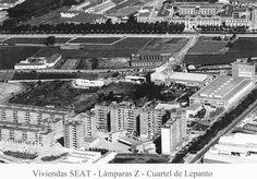Barrio viviendas SEAT años 70