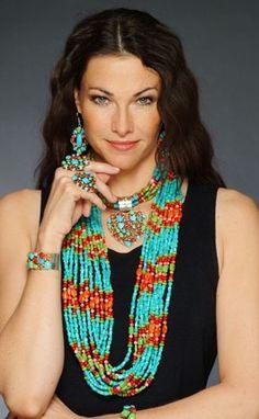 Rocki Gorman - Handmade American Jewelry in Santa Fe, New Mexico can buy at pinto ranch. I love her stuff!