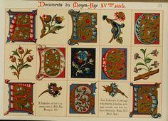 Fleurs d'apr©·s nature et fleurs ornementales by Ernest Guillot - first published in 1890