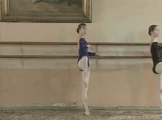 Mesmerizing gif -- Ekaterina Borchenko at Vaganova Ballet Academy