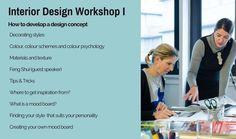 Global Inspirations Design Interior Design Workshop: How to develop a design concept