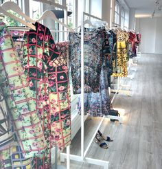 Mary Katrantzou Showroom by Visual Therapy Blog