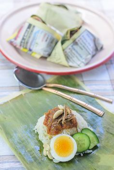 Nasi lemak / Coconut milk Rice