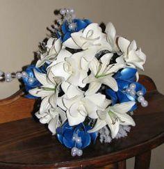 balloon fantasy flower bridal bouquet