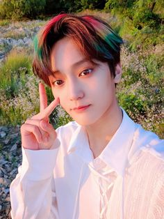 Seo Woo, Nct Johnny, Hair Reference, Look At The Stars, Queen Hair, Golden Child, Kpop, Star Sky, Starship Entertainment