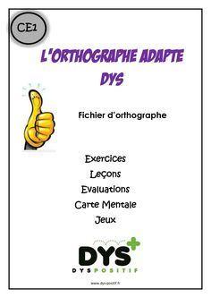 Orthographe CE1