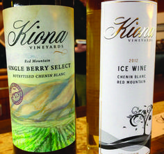 Kiona Vineyards Winery On Red Mountain Produces Two Special Dessert Wines An Ice Wine And A Rare Botrytis Affected