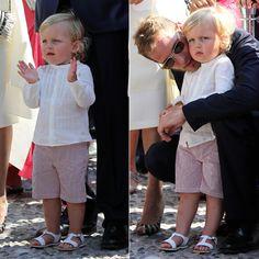 Aplausos para Charlene tras declarar su amor al 'príncipe' de su 'corazón'