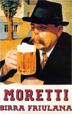 Moretti birra