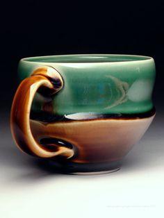 Ryan Greenheck Slip Mug at MudFire Gallery