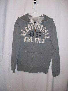 Boys Sz XS Aeropostale Burgundy Zip Gray Hooded Sweat Shirt #Aeacuteropostale #Everyday