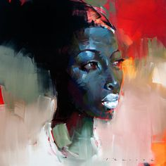 Sold  - Ayanna by Peter Pharoah - prints available from Eclectica Modern in Claremont, Cape Town.
