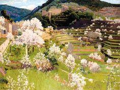Santiago Rusinol Terraced Garden in Mallorca 1911 - Santiago Rusiñol - Wikipedia, the free encyclopedia