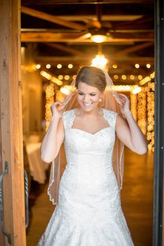 Gorgeous #wedding gown l Giddy and Gold Photography l Read more http://www.rusticfolkweddings.com/2014/06/24/elegant-rustic-bridal-session-by-giddy-and-gold-photography/